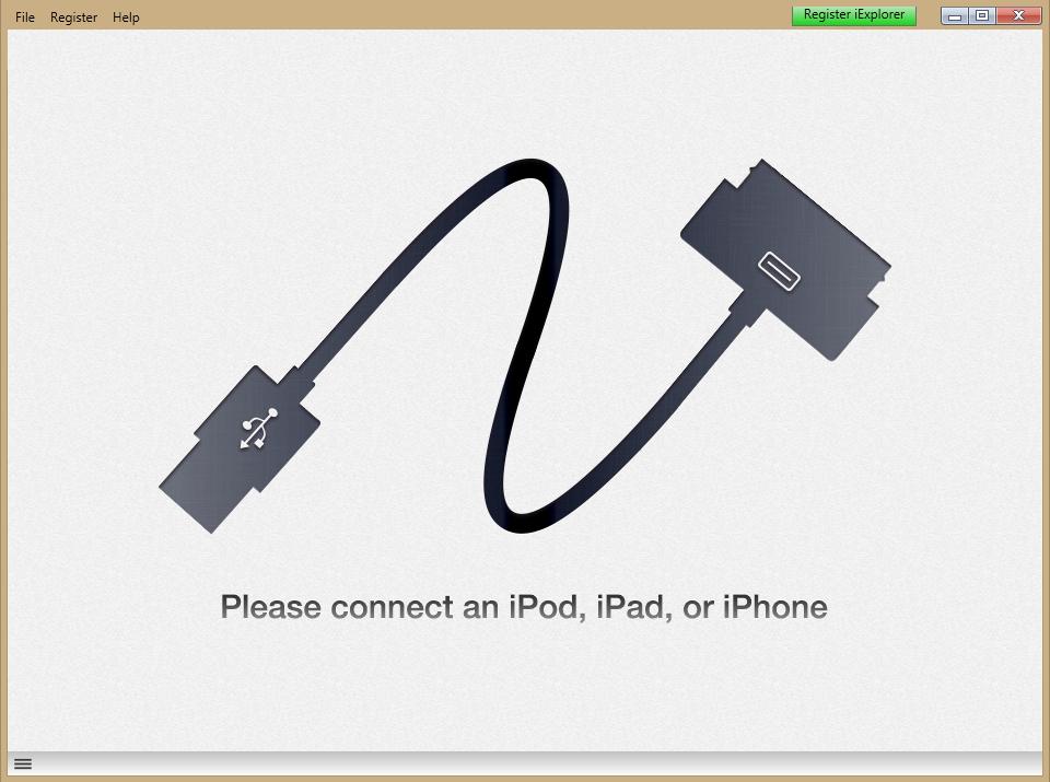 Kuva 1 - Offline -kartat pitää siirtää puhelimeen tai iPadiin iExplorer -ohjelman avulla.