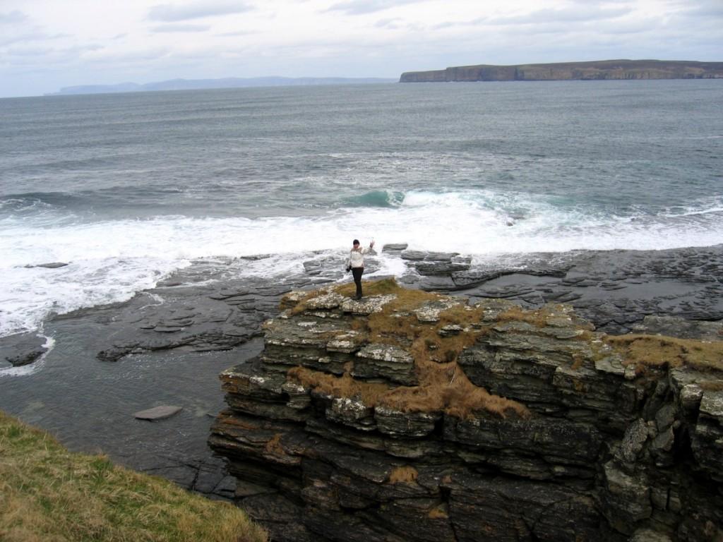 Kuva 3 - Skotlannin reissulla 2007 Kuukkelit löysivät kätkön tämän näköisestä paikasta.