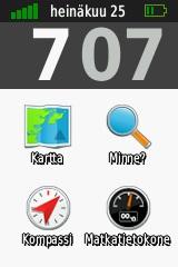 Kuva 7 - Classic-mode näyttää tutulta Oregon käyttäjille.