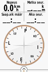 Kuva 10 - Kompassinäkymä