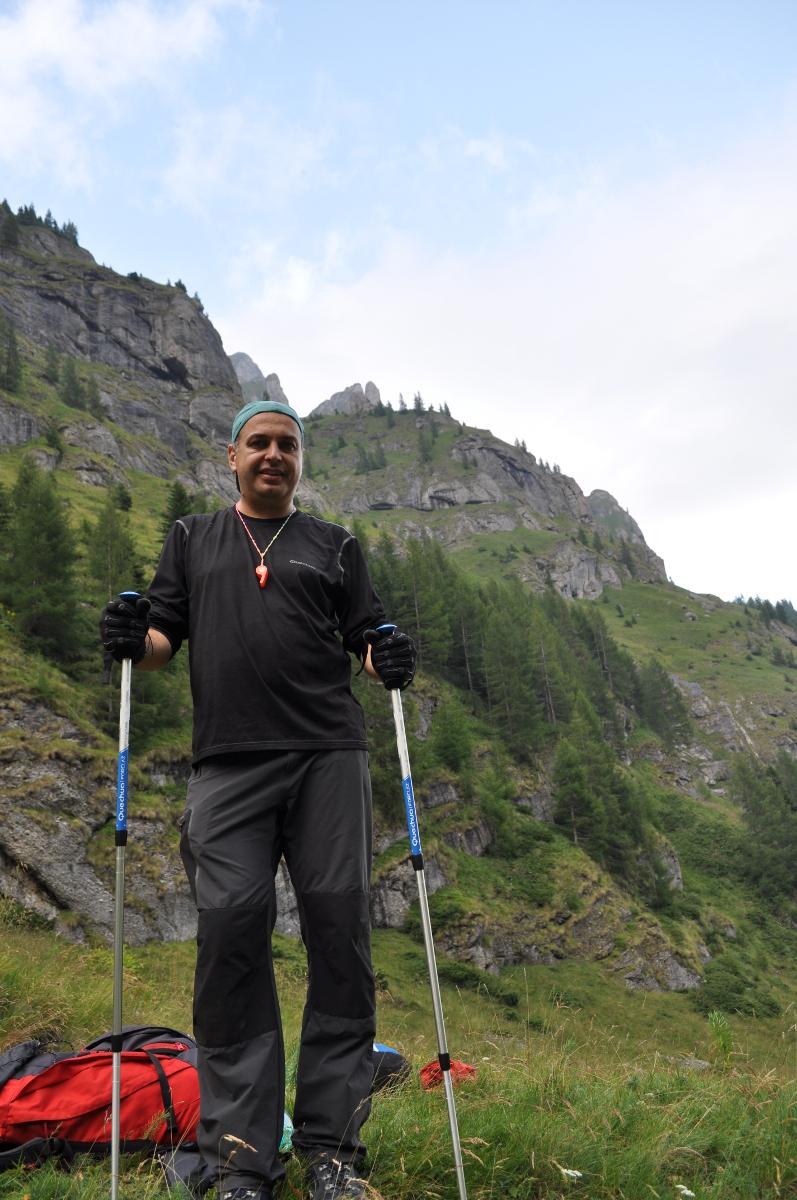 Signal -elokuvan tekijä iepu09 pitää vaelluksista vuorilla.