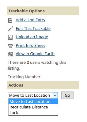 Kuva 1 - Matkalaisen kuvauksen lukitus onnistuu matkaajan sivulta action-valikosta.