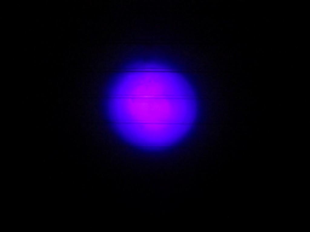 Kuva 14 - Geodox lamppu on yllättävän tehokas. Valokeila on melko pieni, mutta kantaa pitkälle.